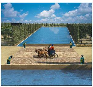 پاورپوینت مطالعه و پژوهش منابع آب و مدیریت آن در منطقه پاسارگاد در دوره هخامنشی